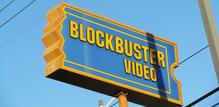 Blockbuster, snart ett minne blott? (bilden är beskuren). Foto: TheTruthAbout…/flickr
