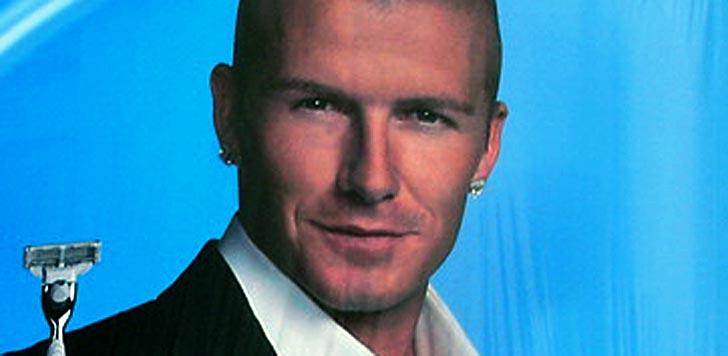 David Beckham på en reklamaffisch (bilden är beskuren). Foto: Brian Harrington Spier/flickr