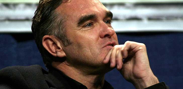 Morrissey (bilden är beskuren).  Foto: JD Lasica/flickr