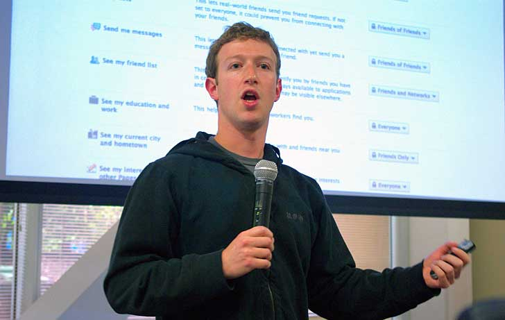 Mark Zuckerberg, Facebooks grundare. Foto: Jakob Steinschaden/flickr