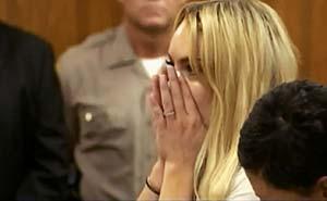 Lohan fri efter 15 timmar. Bild från video.
