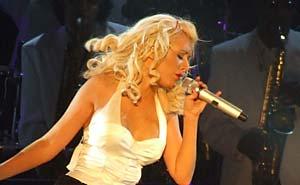 Christina Aguilera bryter med sin man. Foto: D.S.B/flickr