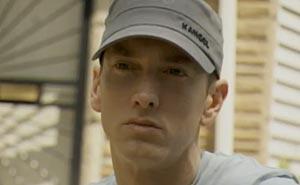 Eminem. Bild från video