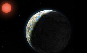 Planeten Gliese 581g
