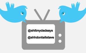 Twitter poppis på tv. Illustration: Media.nu