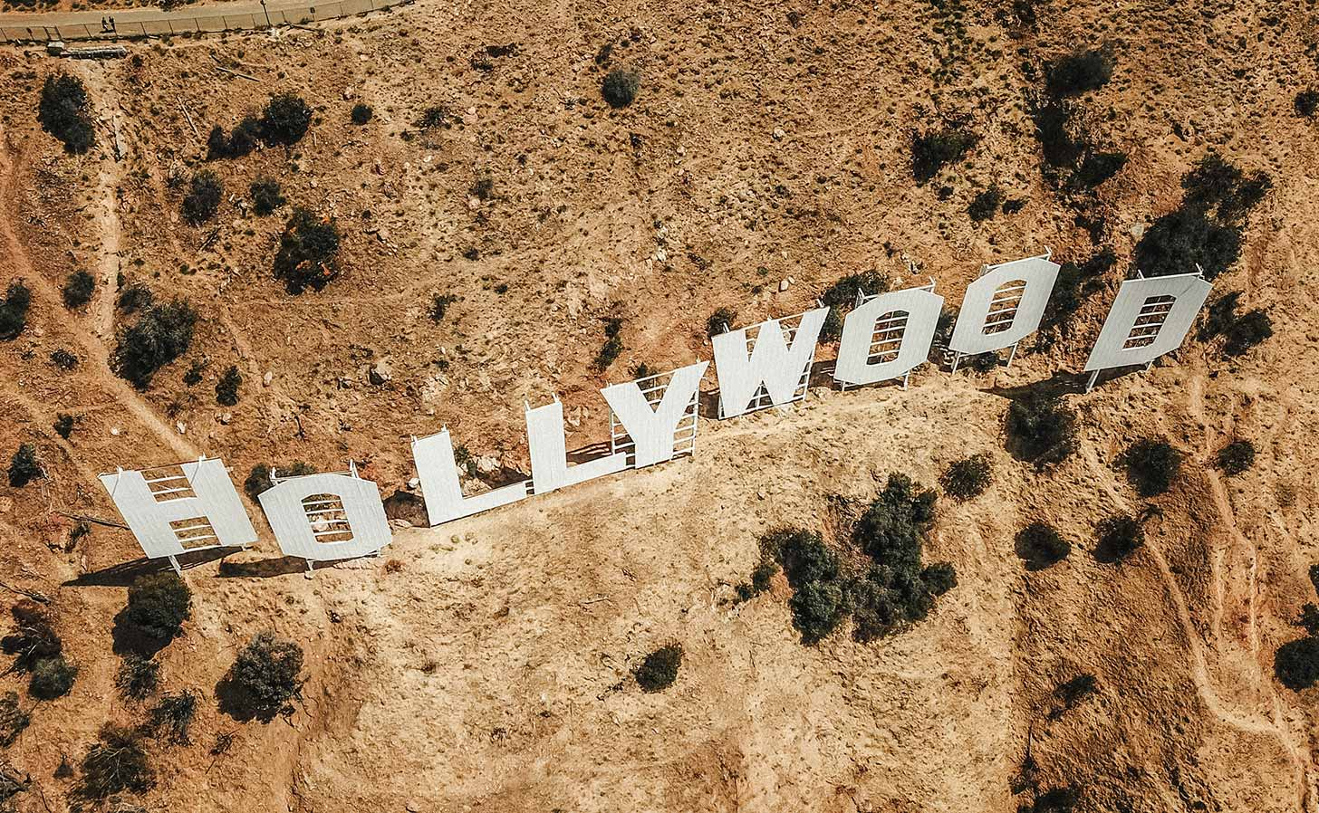 Hollywood-skylten i Los Angeles. Foto: Justin Aikin / Unsplash