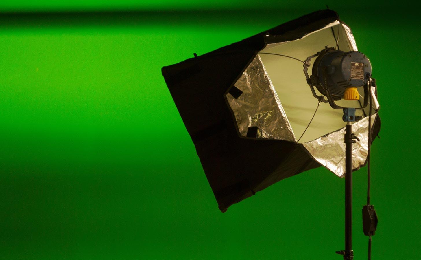 Greenscreen. Foto: Dane Kelly / Unsplash